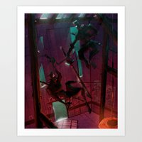 I HAVE A THING FOR NINJA… Art Print