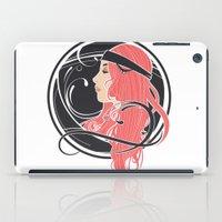 Art Nouveau Goddess iPad Case