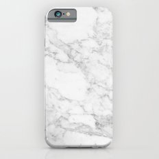 Marble white and grey iPhone 6 Slim Case