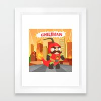 Chiliman Framed Art Print