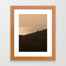 Pointing the Way Framed Art Print
