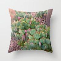 Prickly Pear Cactus Ariz… Throw Pillow
