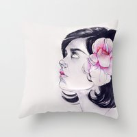 What's a Girl to Do Throw Pillow