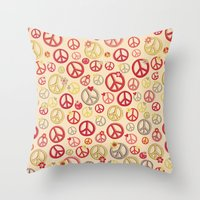 Love And Peace To You , … Throw Pillow