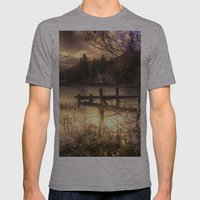 Golden Loch Ard Mens Fitted Tee Athletic Grey SMALL