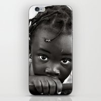LOOKING INTO MY INNOCENT EYES iPhone & iPod Skin