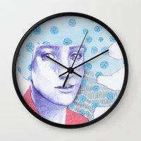 Flowery 03 Wall Clock