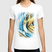 Drips war Womens Fitted Tee White SMALL