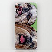 iPhone & iPod Skin featuring Shih Tzu Dog Art by WOOF Factory