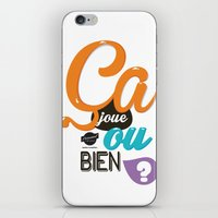 Ca Joue Ou Bien ? iPhone & iPod Skin