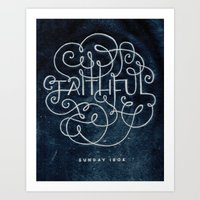 Faithful Art Print