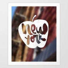 NY: The Big Apple Art Print