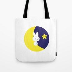 Moonbunny Tote Bag