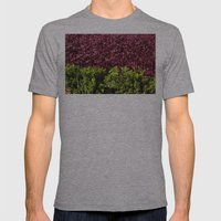 Colorful Leaves Mens Fitted Tee Athletic Grey SMALL