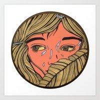 Teardrop Lullaby #8 Art Print