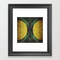 Electro-Magnetic Restraint Framed Art Print