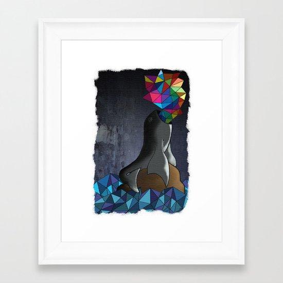 Polylobal Framed Art Print