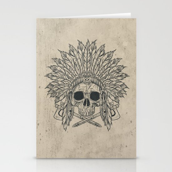 The Dead Chief Stationery Card
