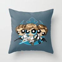 Light Side Throw Pillow