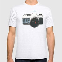 Click! - Camera Mens Fitted Tee Ash Grey SMALL