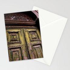 Green Door 2 Stationery Cards