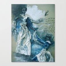 ^w^ Canvas Print