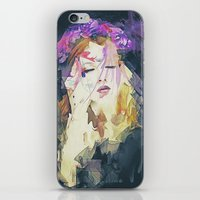 Path - Abstract Portrait iPhone & iPod Skin
