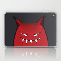 Evil Monster With Pointy… Laptop & iPad Skin