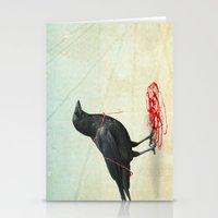 Freedom  _ Black Crow Stationery Cards