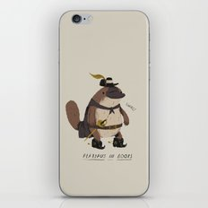 platypus in boots iPhone & iPod Skin