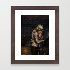 Comfort in the Rain Framed Art Print
