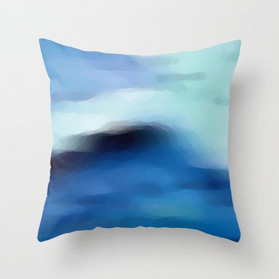 sea 01+ Throw Pillow