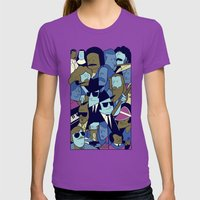 The Blues Brothers Womens Fitted Tee Ultraviolet SMALL