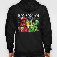 Not Sorry Roller Derby A… Hoody
