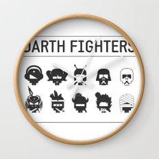Darth Fighters Wall Clock