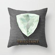 Trilliant Throw Pillow