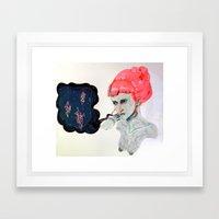 QUEEN OF PEACE Framed Art Print