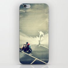 Riding on Paint iPhone & iPod Skin