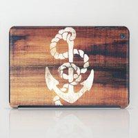 Vintage Nautical Anchor … iPad Case