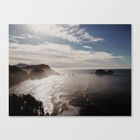 Cape Lookout Canvas Print