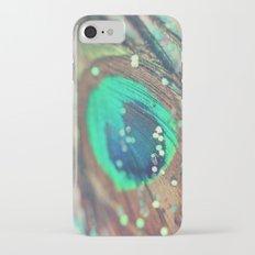 Peacock's Dream iPhone 7 Slim Case