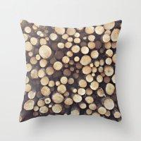 If I Wood, Wood You? Throw Pillow