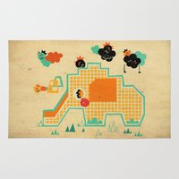Elephant Playground Rug