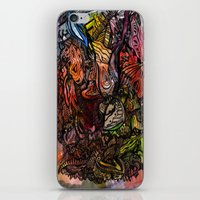 Watercolor Illusion  iPhone & iPod Skin