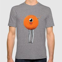 Eye Spy Mens Fitted Tee Tri-Grey SMALL