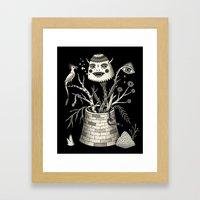 Savage Bouquet Framed Art Print