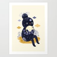 Art Print featuring We Are Inseparable! by Muxxi
