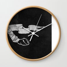 Leg Wrap Wall Clock