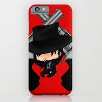 iPhone & iPod Case featuring Chibi Jigen Daisuke by artwaste