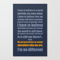 We All Need Mirrors Canvas Print